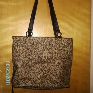 Handbags - Silky Faux Suede Tote, large - new